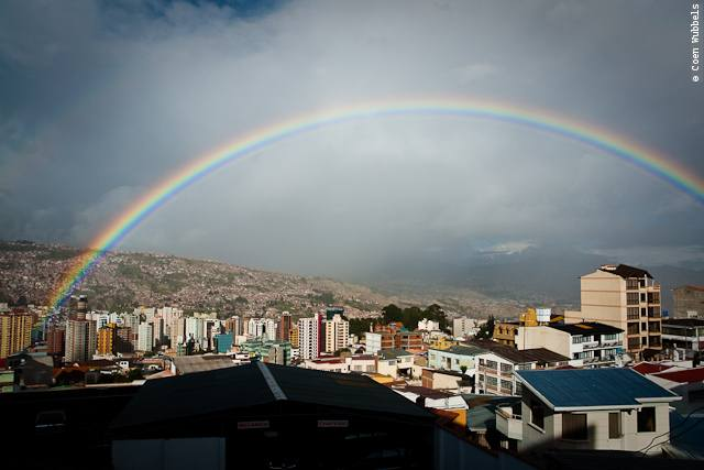 Despite the disaster project, we loved living in La Paz.