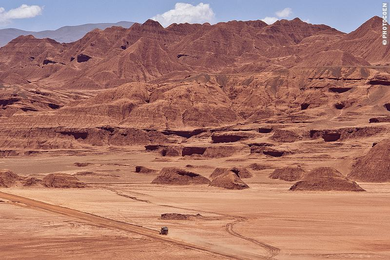 Places in South America to listen to silence: Deserto do Diablo in Argentina (©photocoen)