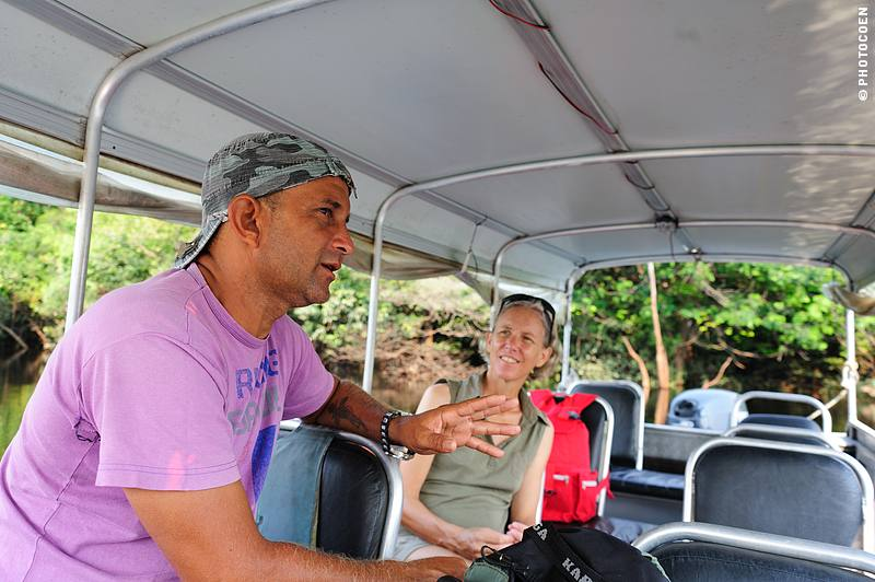 Tourism is welcome in the Anavilhanas flooded forest, providing Valmir with a steady job.
