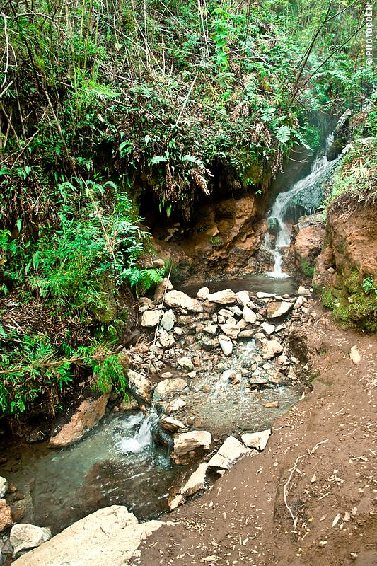 Hot Spring in South America - on the border of Argentina and Chile.