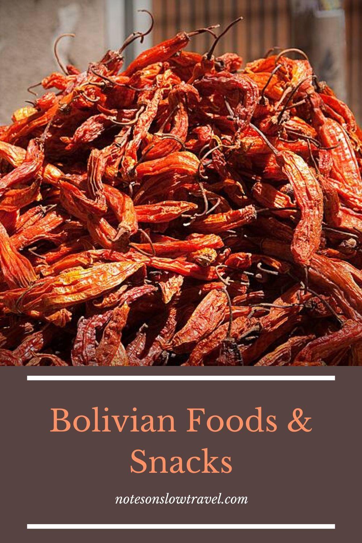Foods in Bolivia (©Coen Wubbels)
