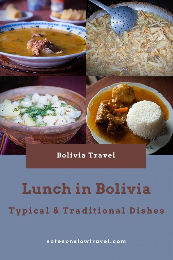 Lunch in Bolivia (©Coen Wubbels)