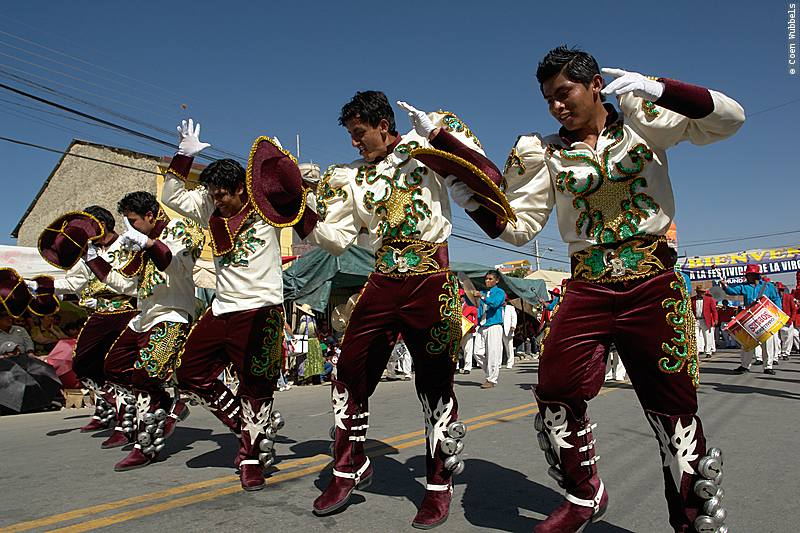 The Carporales is one of the most vibrant, intense dances in Bolivia.