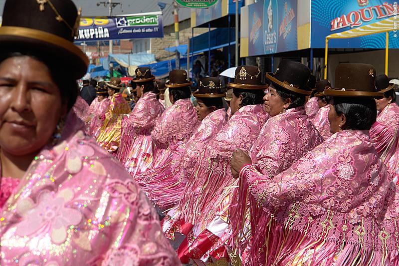 Kullawada Dance is popular in La Paz (©photocoen)