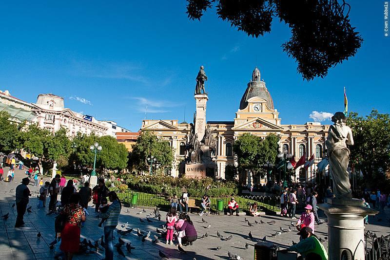 Plaza Murillo.