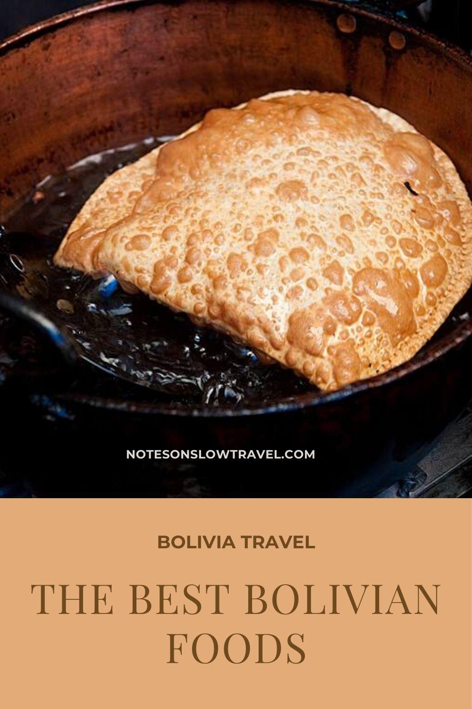Best Bolivian Foods, Fried Api