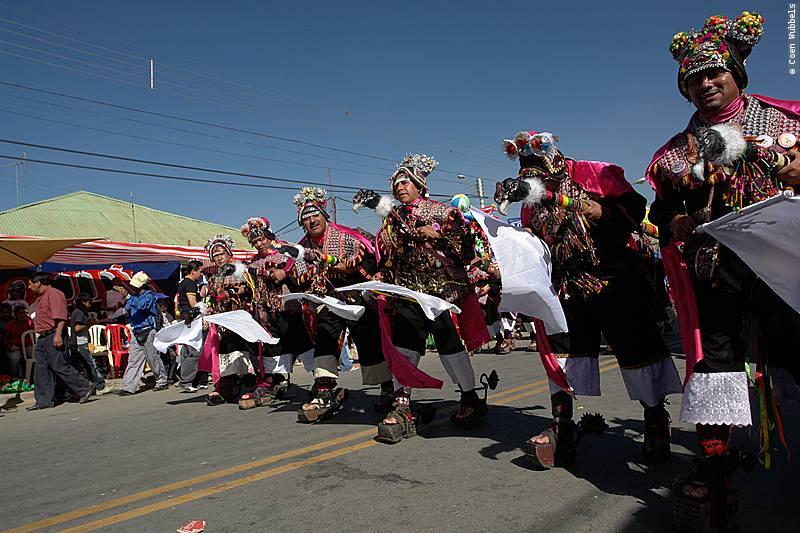The Waca Tokoris Dance is popular in Bolivia (©photocoen)