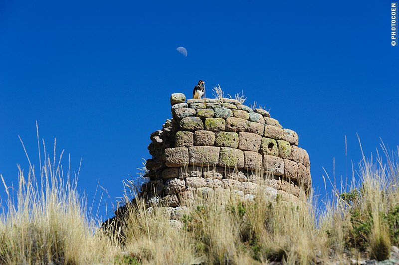 Chullpa near Puno, Chile.