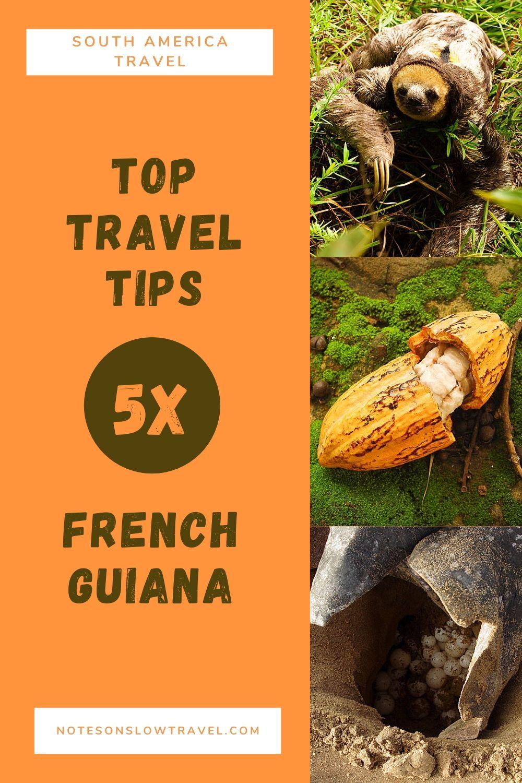 French Guiana Travel Tips