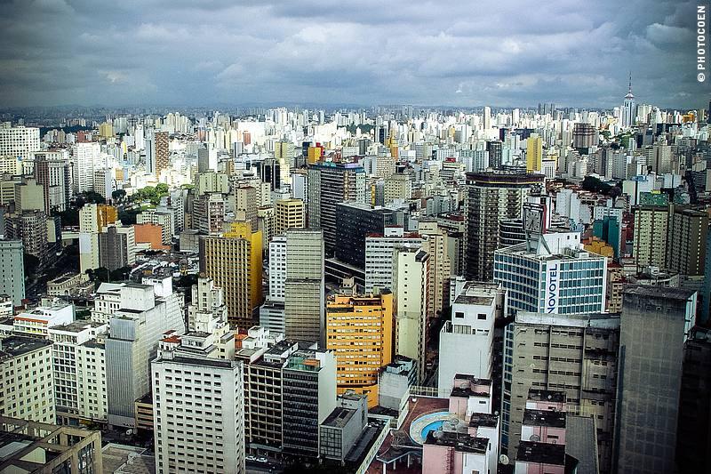 Top Visit in São Paulo, a view from Edificio Italia.