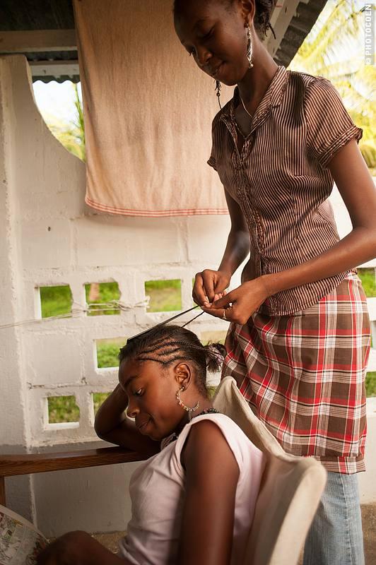 at Sukh Dhaam's Children's Home, Suriname (©photocoen)