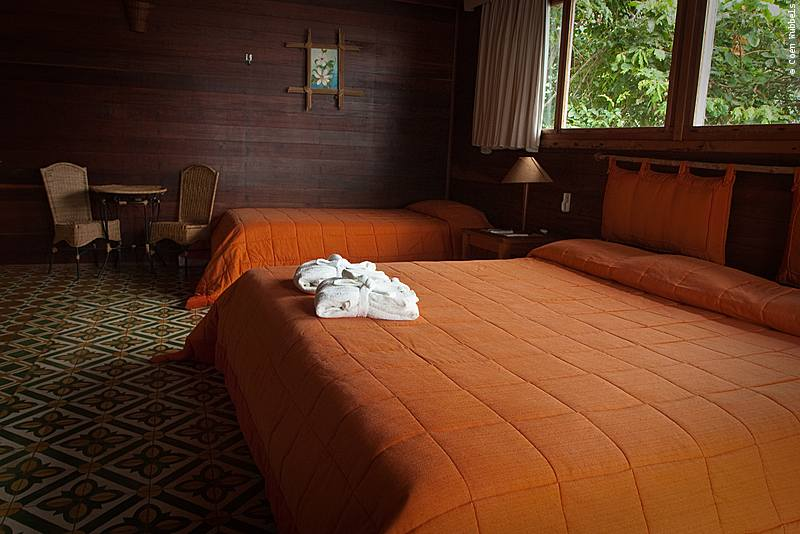 Our Room, Pakaas Jungle Lodge in Brazil (©photocoen)