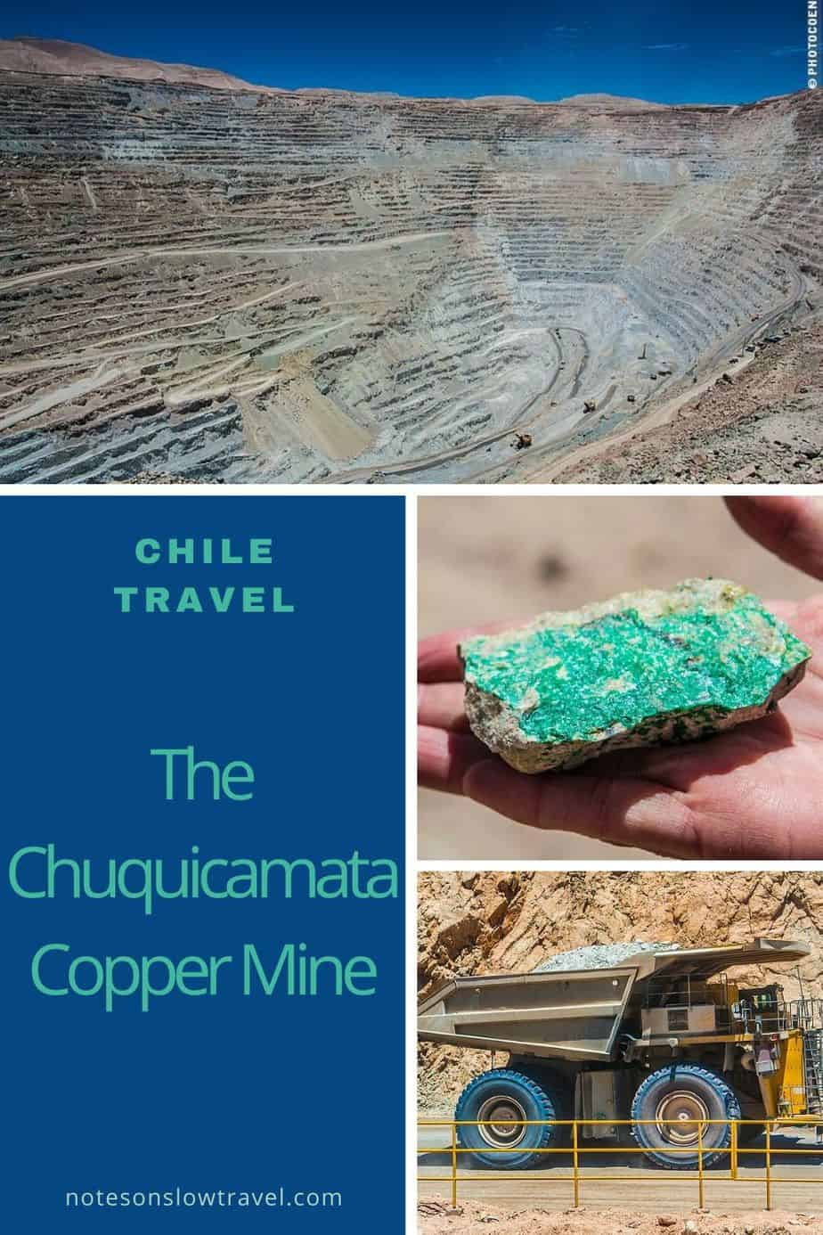 Chuquicamata copper mine in Chile