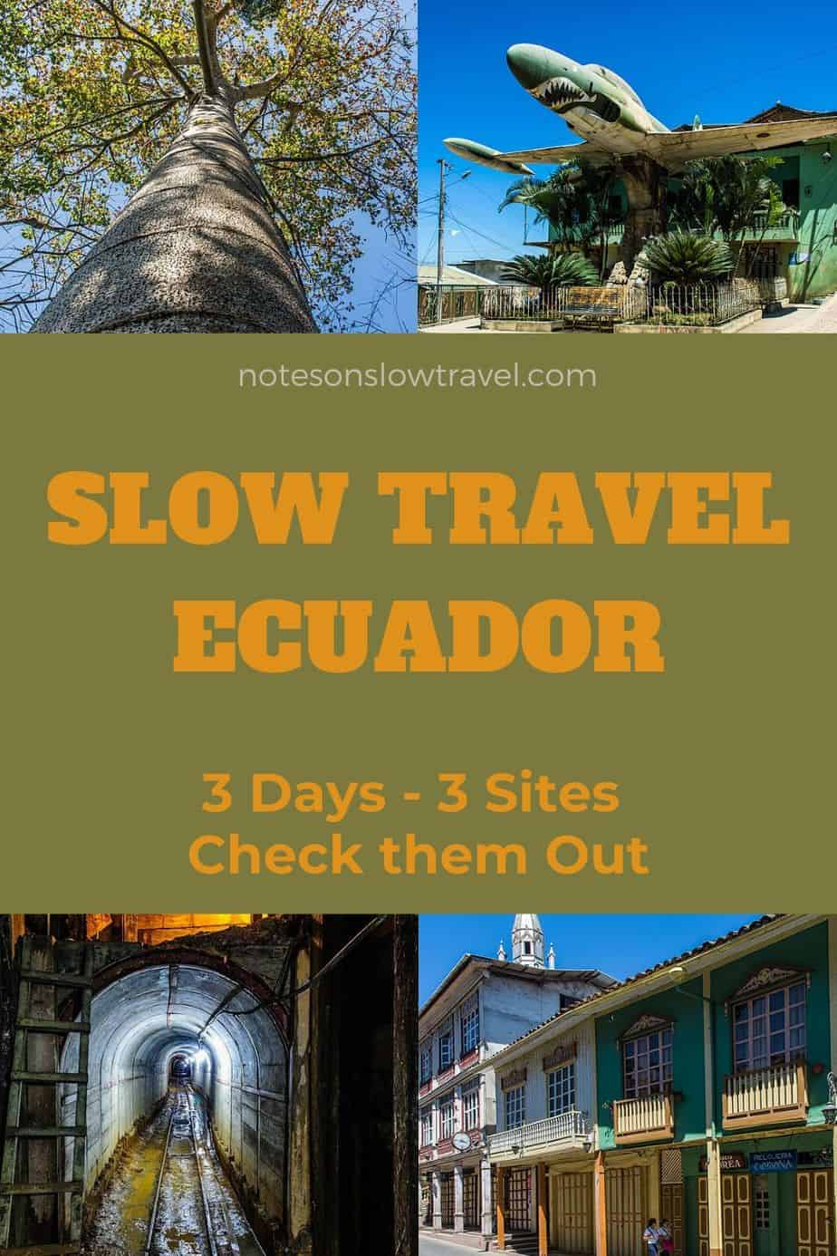 Slow Travel Ecuador