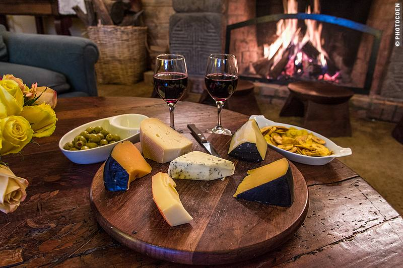 Every day you can take your pick from different cheeses (and yes, some guests could use some instruction on how to properly cut a cheese; note this is not our doing!).