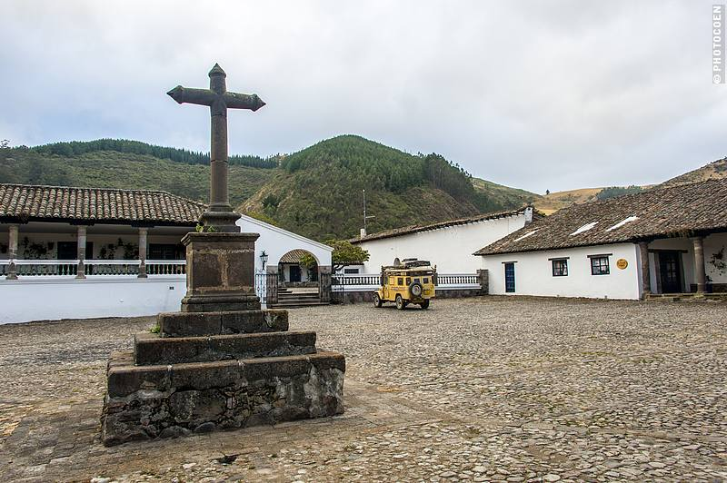 The hacienda was built in the 17th century by the Jesuits but has been private property since the 18th century.
