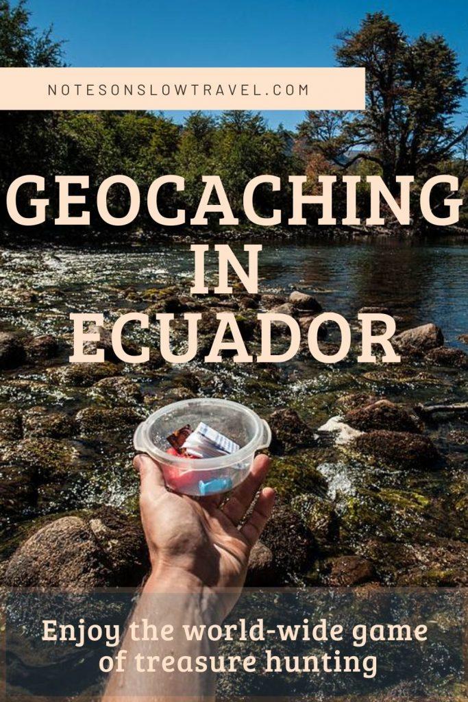Geocaching in Ecuador