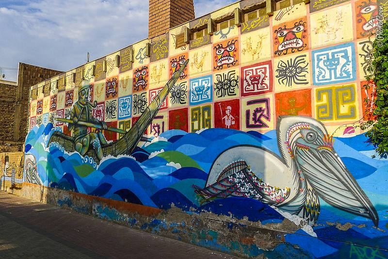Graffiti and Murals in Huanchaco, Peru (©photocoen)