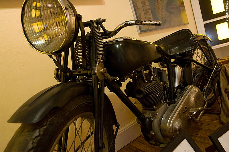 Che Guevara's Motorcycle in Alta Gracia, Argentina (©photocoen)