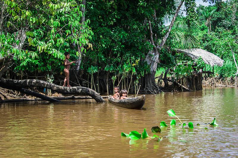 Warao People in the Delta Orinoco, Venezuela (©photocoen)