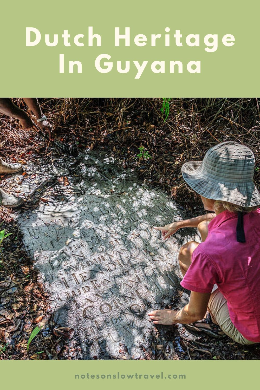 Dutch Graves in Guyana (©Coen Wubbels)