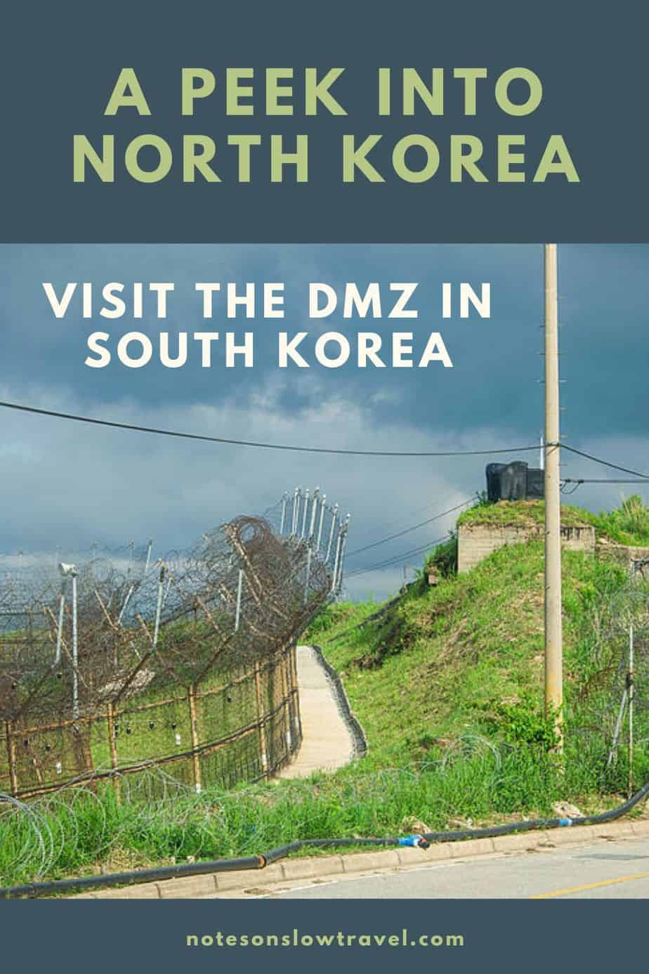 DMZ, Demilitarized Zone in Korea