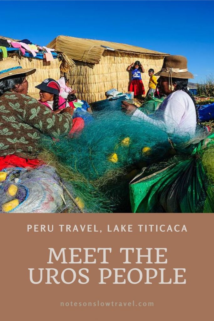 Uros People on Lake Titicaca, Peru (©Coen Wubbels)
