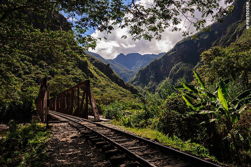 The Backdoor Trail to Machu Picchu through fantastic landscapes.