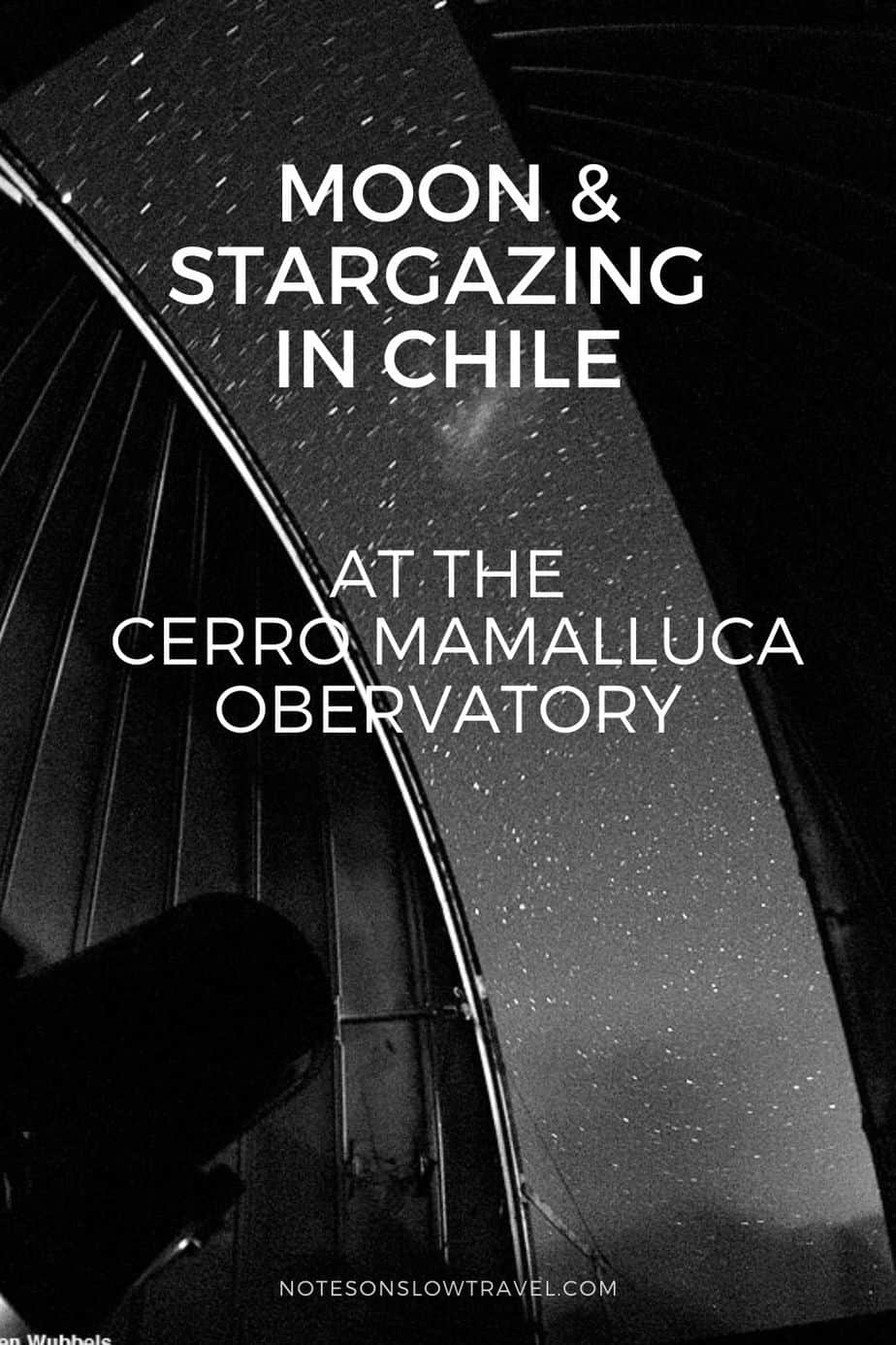 Stargazing at Cerro Mamalluca in Chile