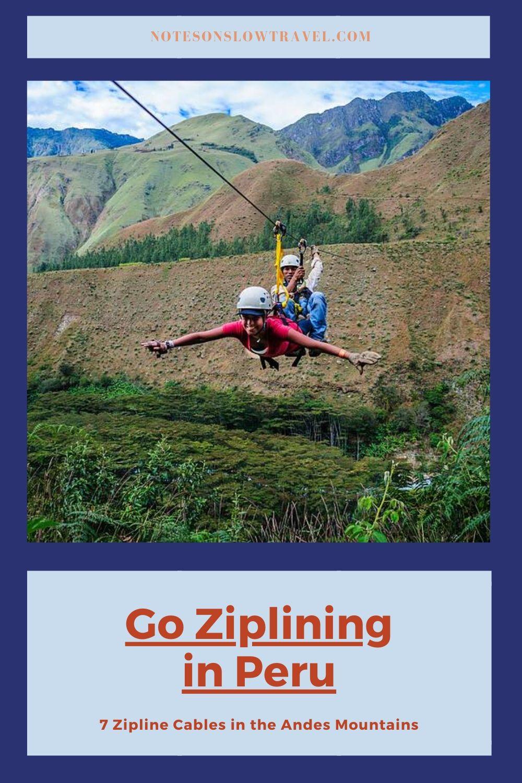 Ziplining in Peru, Cola de Mono