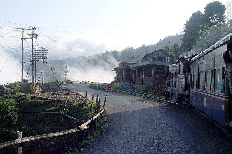Taking the slow train to Darjeeling.