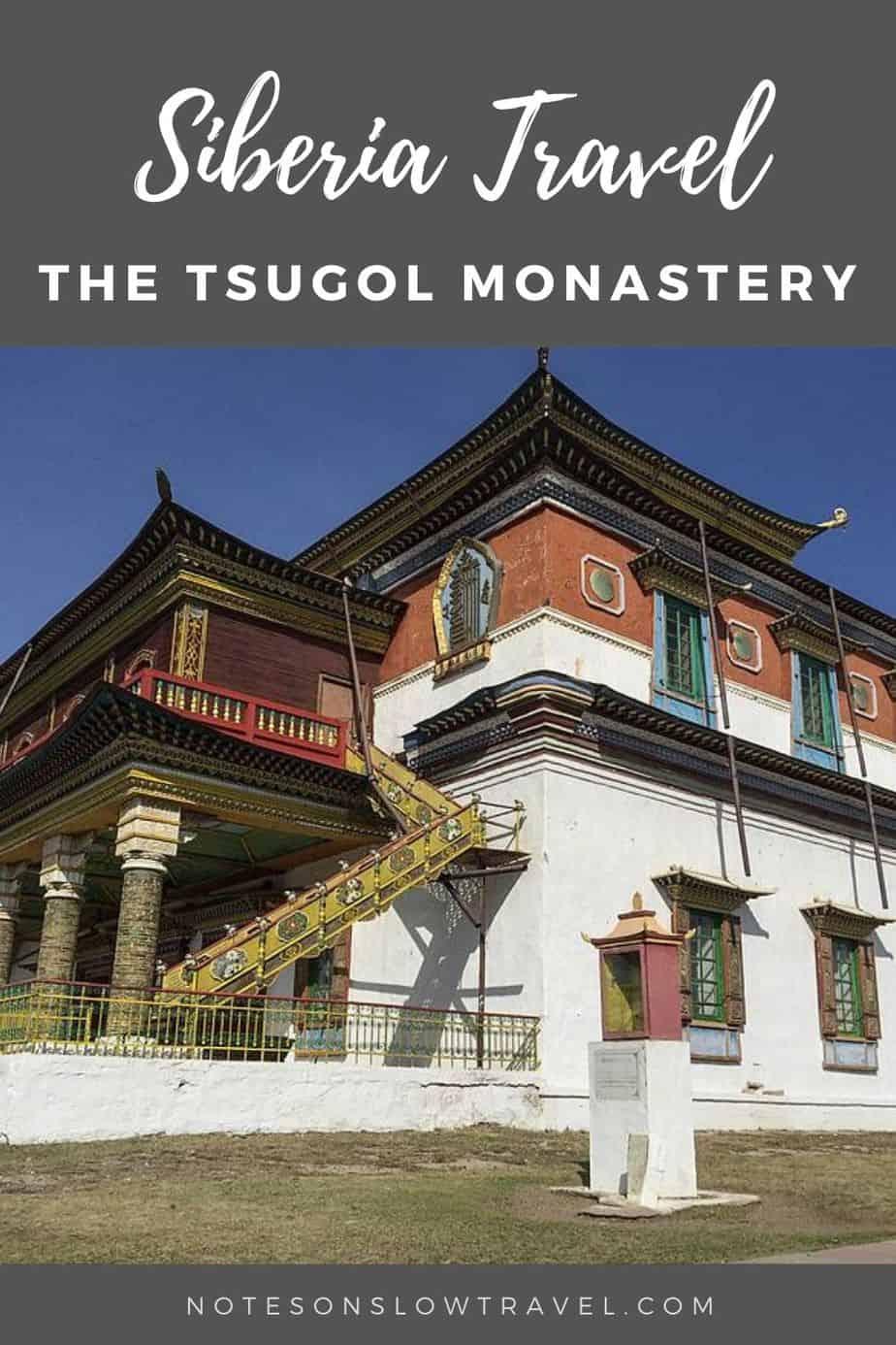 Tsugal Monastery in Russia