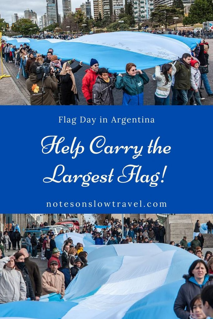 Flag Day in Rosario, Argentina (©Coen Wubbels)