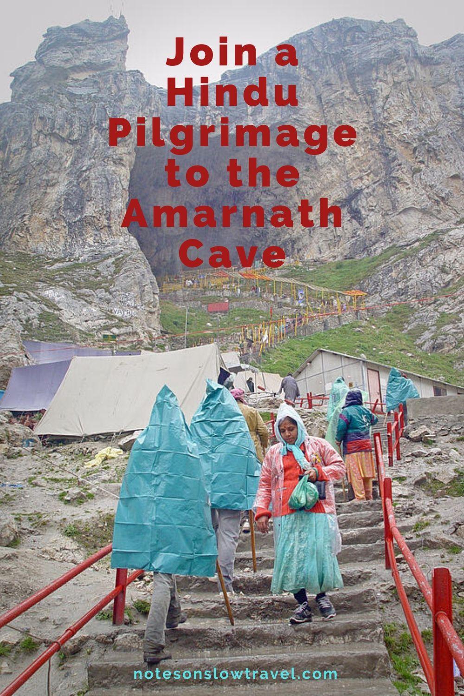 Hindu Pilgrimage to Amarnath Cave, India