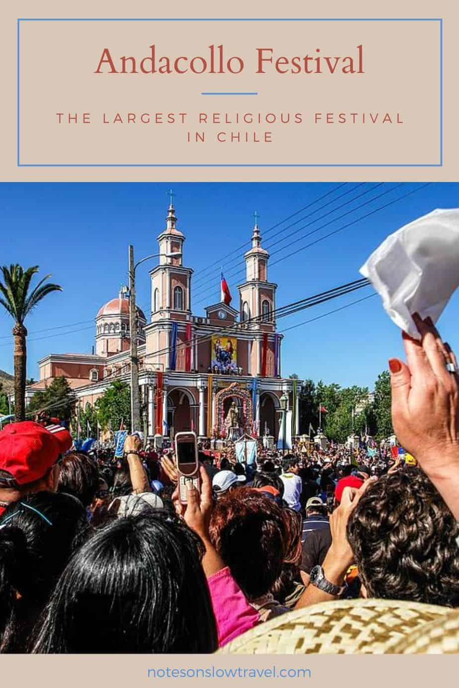 Andacollo Festival in Chile
