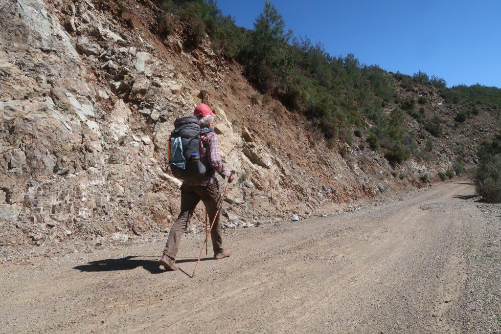 Hiking a wide path on the Datça Peninsula