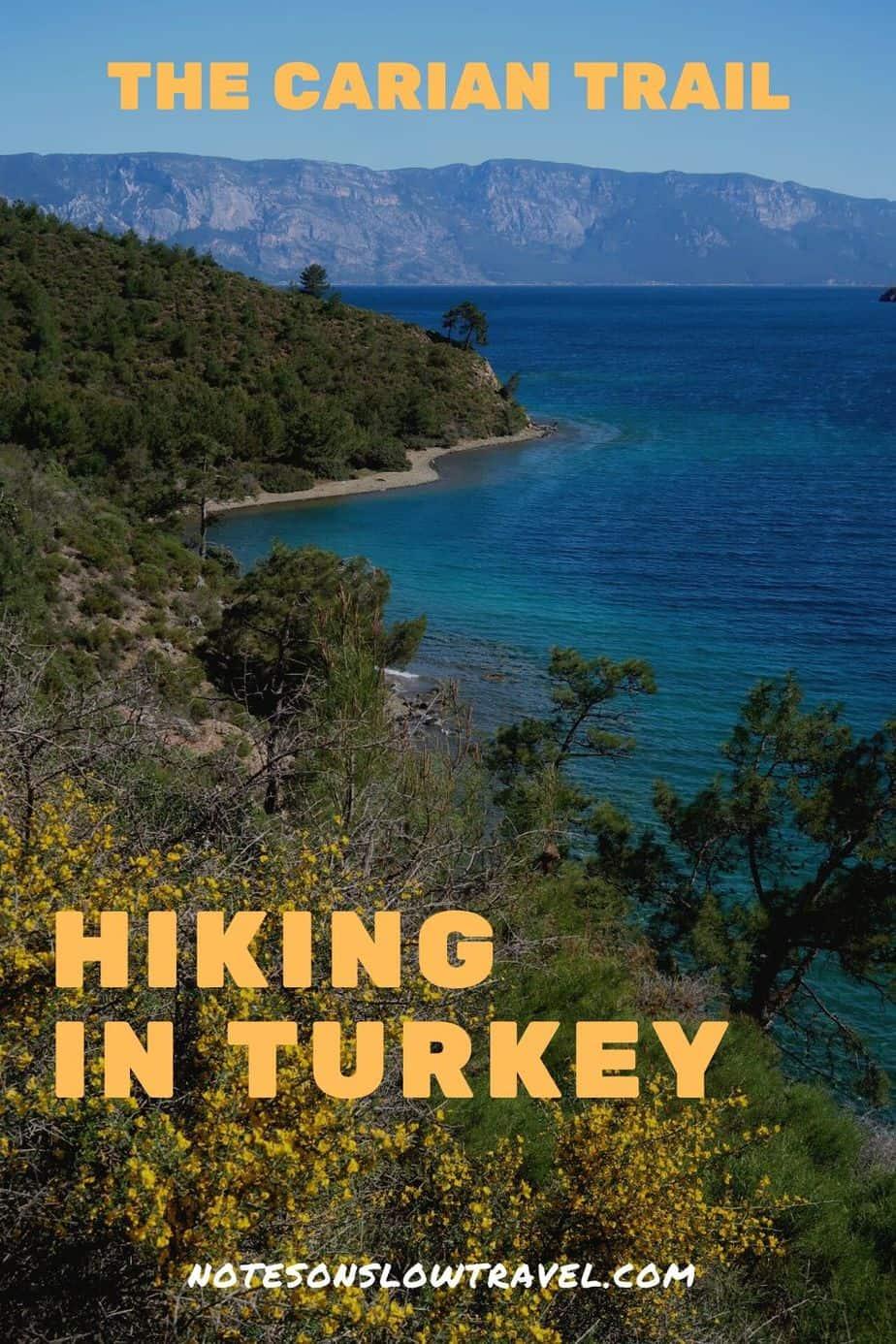 Hiking the Datça Peninsula
