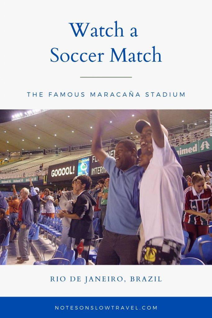 Soccer Match in the Maracaña Stadium, Rio de Janeiro (©Coen Wubbels)