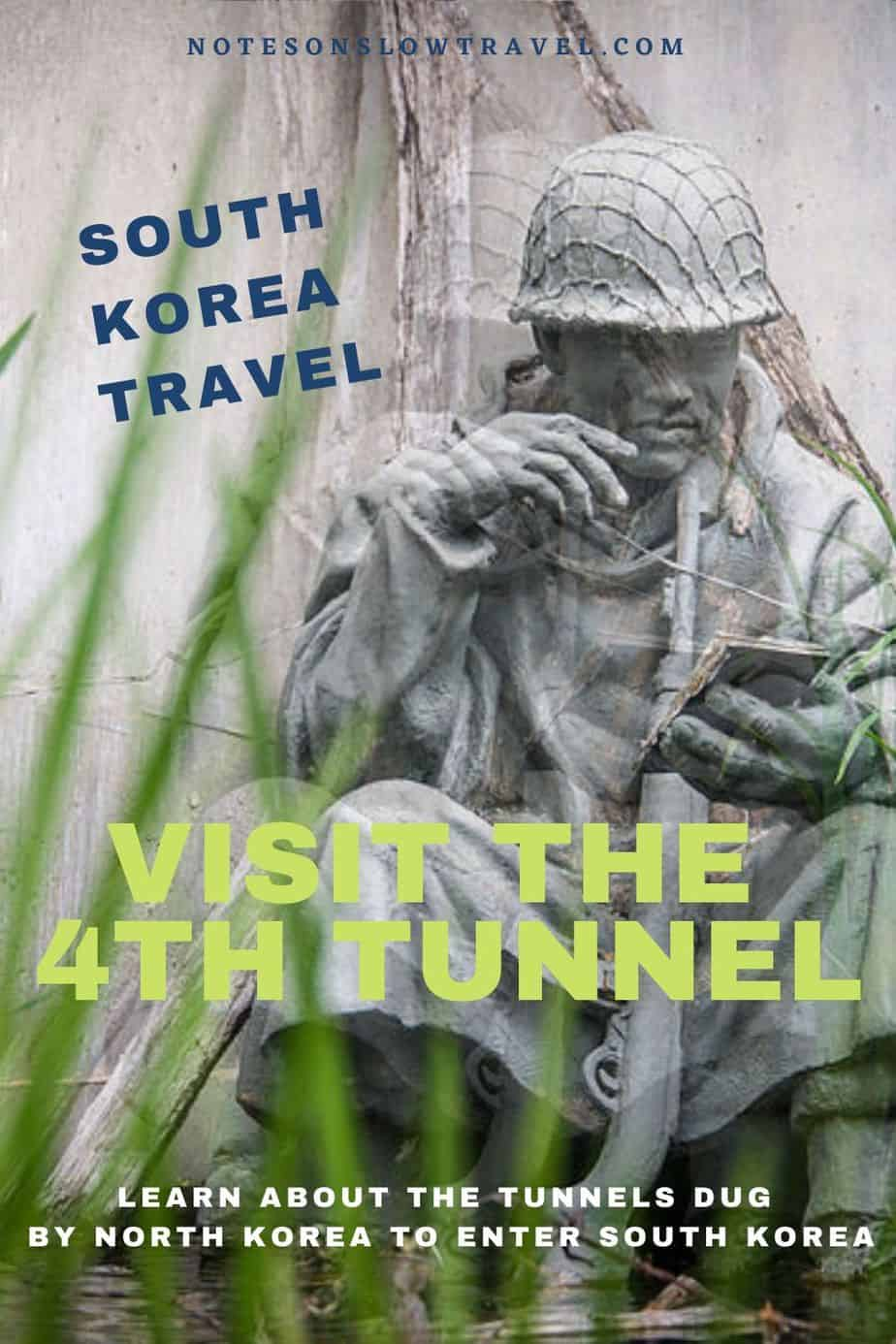 4th Tunnel in South Korea connecting North with South Korea