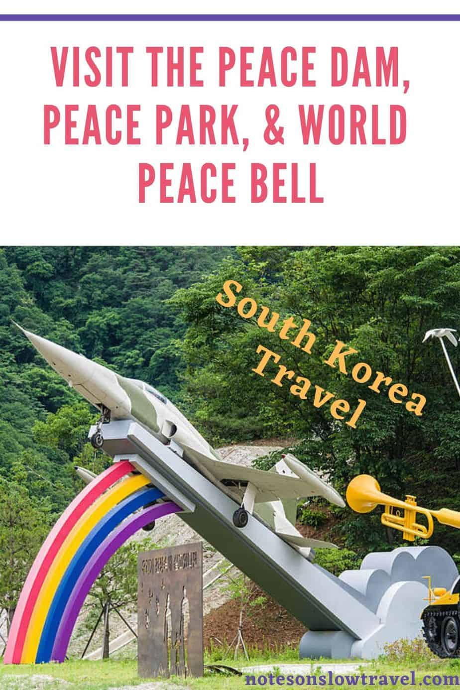 Peace Dam & Peace Park in South Korea