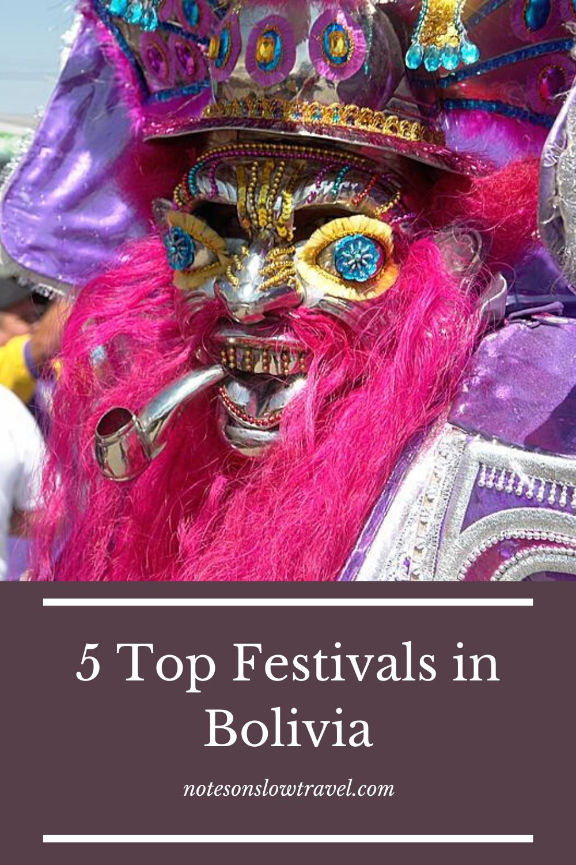 Popular Festivals in Bolivia (©Coen Wubbels)