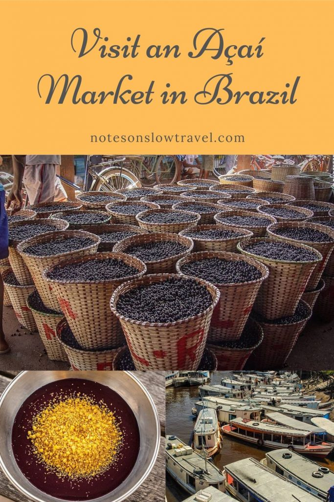 Açaí Market in Santana, Brazil (©Coen Wubbels)