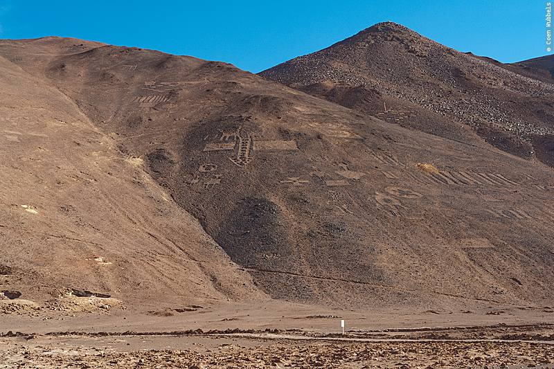 Geoglyphs of Pintados in Chile