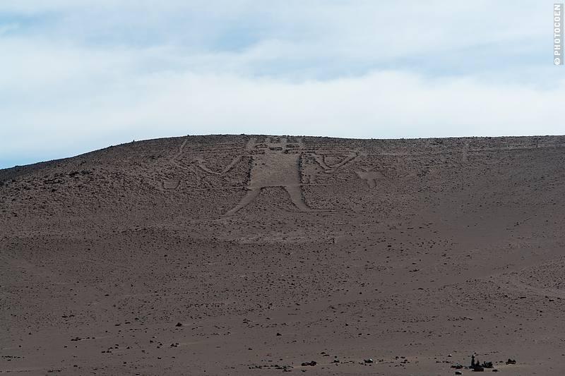 Geoglyph Giant of Atacama, Chile