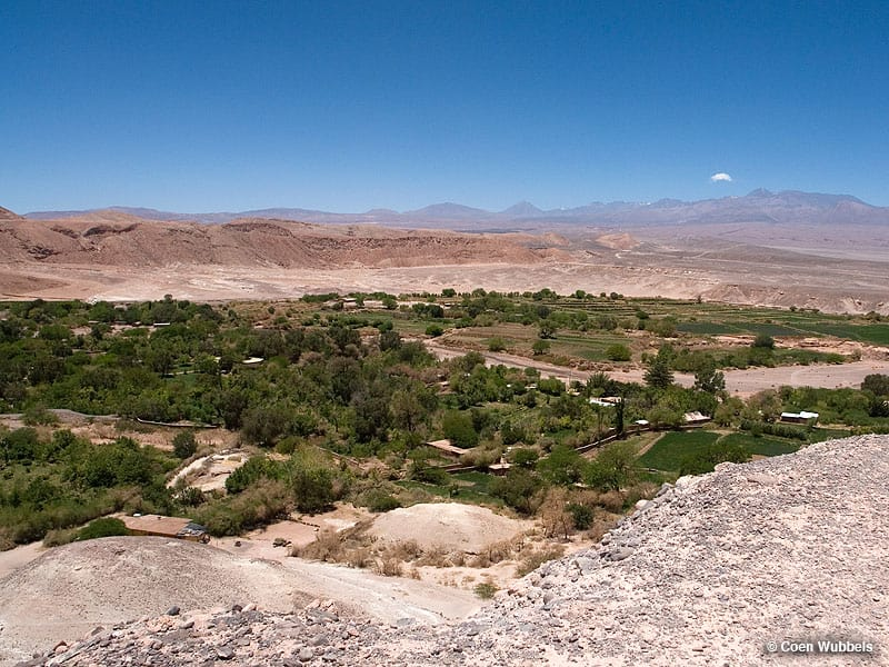 View of San Pedro de Atacama, Chile