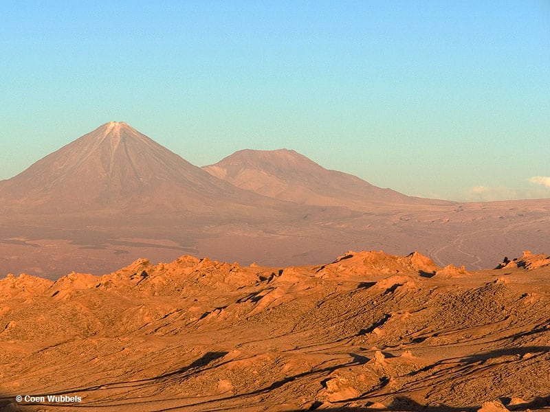 San Pedro Volcano, San Pedro de Atacama,Chile